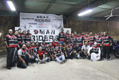 نادي عمان رايدرز يشارك في مهرجان قطر جورني