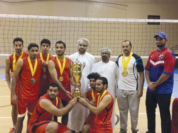 ختام البطولة الرياضية لكليات العلوم التطبيقية