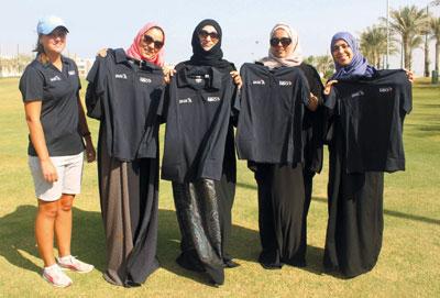 ختام ناجح لفعاليات البرنامج البرونزي النسائي في الجولف