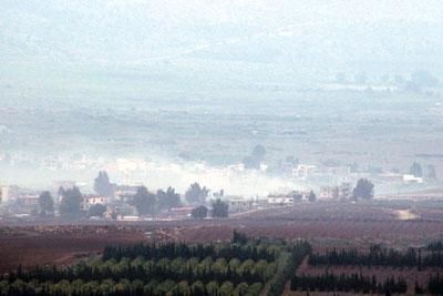 حزب الله يدمر آلية عسكرية إسرائيلية في مزارع شبعا .. وقصف مدفعي على الوزاني