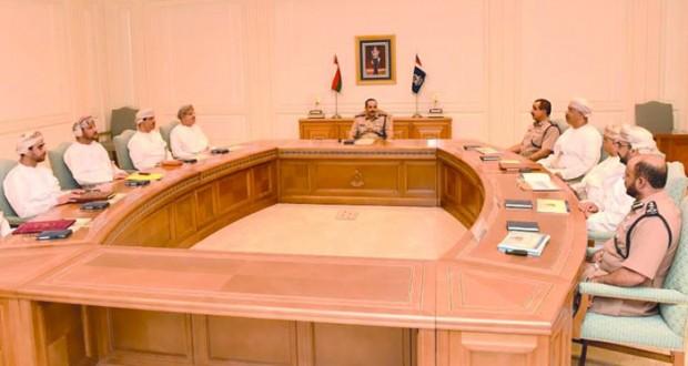 اجتماع اللجنة الوطنية للسلامة على الطريق