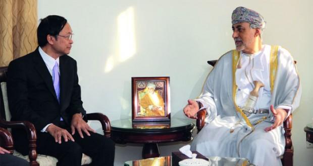 شهاب بن طارق يستقبل وزير العلوم والتكنولوجيا التايلندي