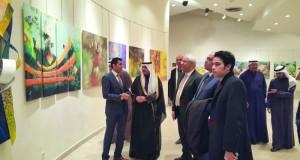 """افتتاح معرض """"رؤى مصرية"""" ضمن فاعليات مهرجان القرين الثقافي بالكويت"""
