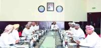 مجلس إدارة فرع الغرفة بالبريمي يناقش الأوضاع الاقتصادية بالمحافظة