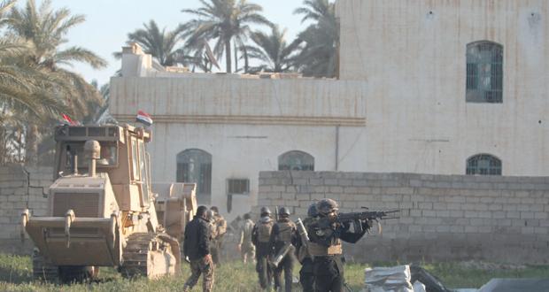 الحكومة العراقية تباشر بناء جدار أمني حول بغداد لمنع تسلل الإرهابيين