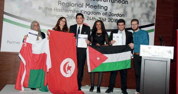 جماعة الطب الطلابية بجامعة السلطان قابوس تحصل على المركز الثالث