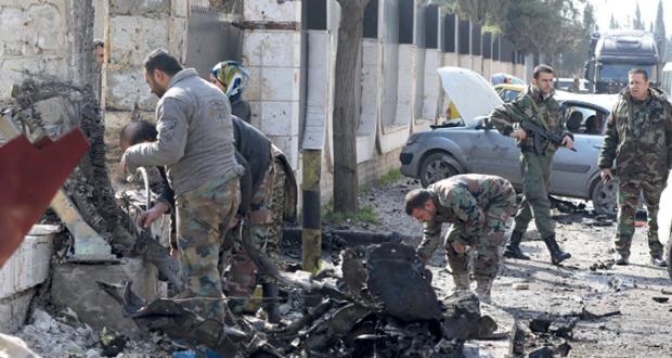 سوريا: مع اقتراب الجيش من أعزاز.. الإرهابيون يفجرون مفخخة بدمشق