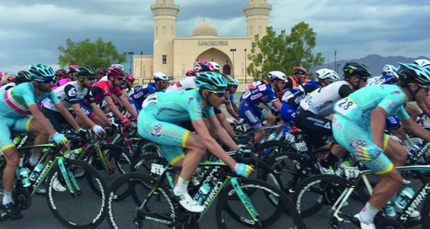 النرويجي الكسندر كرستوفر بطل المرحلة الثالثة لطواف عمان 2016