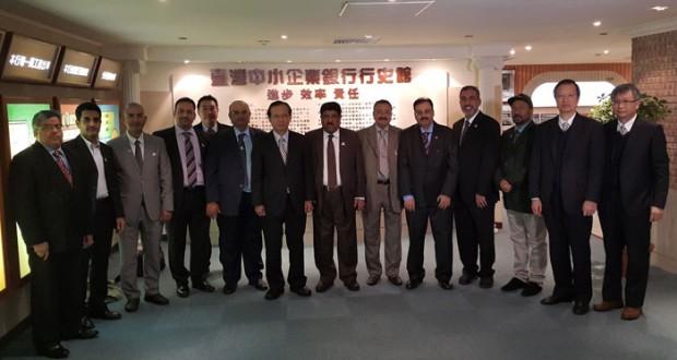 وفد الغرفة يواصل زيارته لتايوان ويبحث مع مسؤولين المؤسسات الصغيرة والمتوسطة وبنك الأعمال التايواني تعزيز التعاون بين البلدين