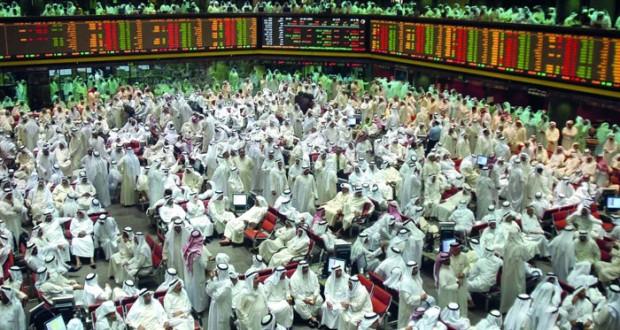 83 مليار دولار خسائر أسواق الأسهم الخليجية في يناير