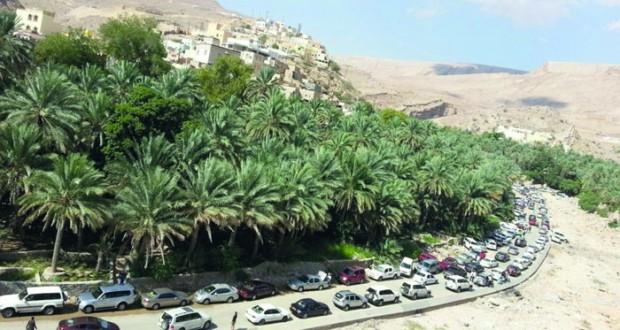 أكثر من 167 ألف سائح زاروا وادي بني خالد العام الماضي