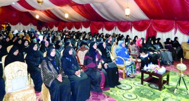 نائبة رئيس مجلس الدولة ترعى ندوة تفعيل دور المرأة في المجتمع بوادي المعاول