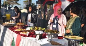 جمعية دار العطاء الخيرية تنظم معرض الغذاء العالمي