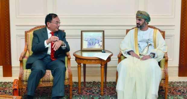 رئيس مجلس الشورى يتسلم رسالة من رئيس مجلس النواب الياباني