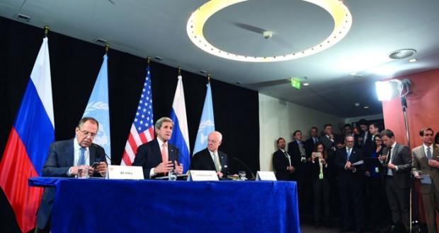 بمشاركة السلطنة .. اتفاق بـ(ميونيخ) على وقف للمعارك بسوريا يستثني الإرهاب