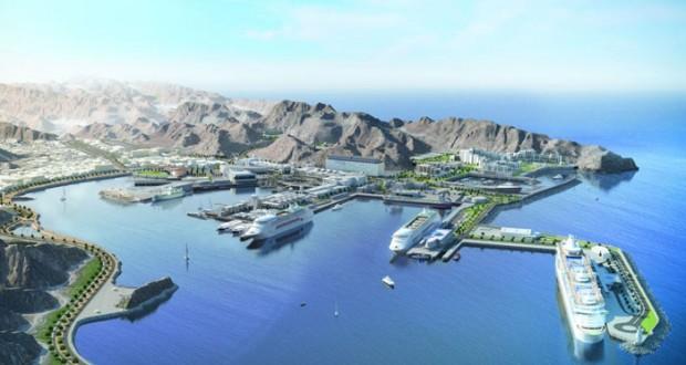 """""""عمران"""" تستعرض مشروع الواجهة البحرية لميناء السلطان قابوس السياحي"""