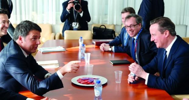 لندن وأوروبا تسعيان للتوصل إلى اتفاق يبقي بريطانيا في الاتحاد