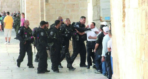 ميليشيا مستوطنين تقتحم «الأقصى» فـي حراسة جيش الاحتلال