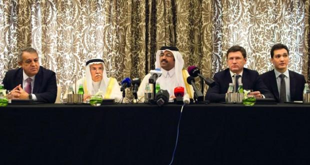 السعودية وروسيا وقطر وفنزويلا تتفق على تجميد إنتاج النفط عند مستوى يناير