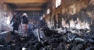اليمن : مقاتلات التحالف تستهدف مخازن أسلحة للحوثيين بصنعاء