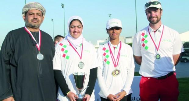 منتخب فتياتنا يحصد المركز الثاني في ختام البطولة الخليجية الثانية للجولف