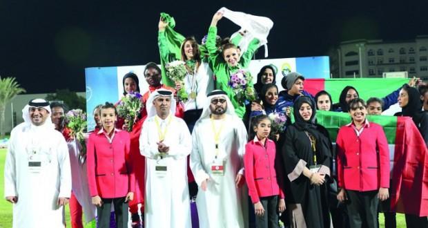 فتيات نادي البشائر يخطفن خمس ميداليات ملونة في مسابقات ألعاب القوى اختيار الزدجالية للجنة الاعلاميات العربيات بالاتحاد العربي للصحافة الرياضية