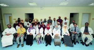 المستشفى السلطاني يُكرم الموظفين المجيدين من الكوادر الطبية العاملة بقسم الطب النووي