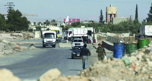 سوريا تتعهد بالمضي في مكافحة الإرهاب والمفاوضات والجيش يستعد للرقة