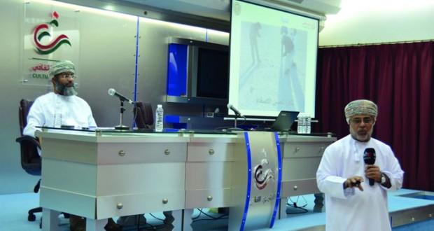 (عمان متحف للنيازك) محاضرة علمية بالنادي الثقافي