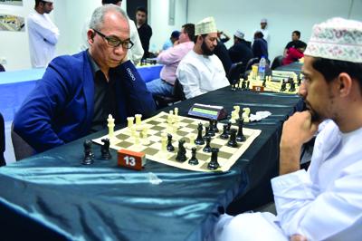 ختام منافسات بطولة عمان الدولية للشطرنج