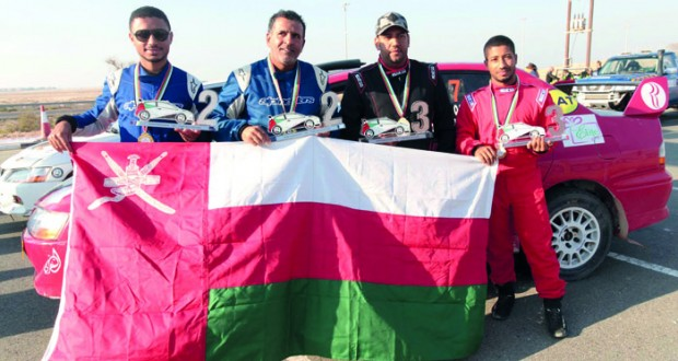 إنجاز رائع لأبطال الراليات العمانيين في الإمارات