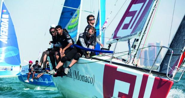 انطلاق منافسات النسخة السادسة لسباق الطواف العربي للإبحار الشراعي