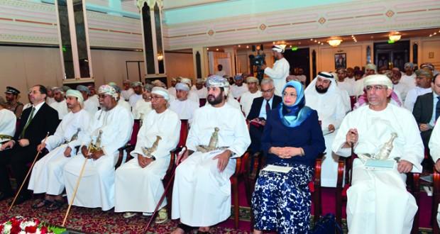 مستشار جلالة السلطان لشؤون التخطيط الاقتصادي يفتتح مؤتمر الاجادة في القطاع الحكومي