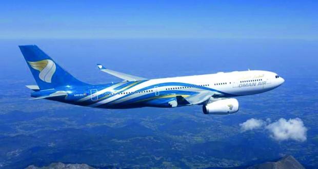 الطيران العماني ينقل 6.4 مليون مسافر العام الماضي و87% نسبة المحافظة على مواعيد الإقلاع