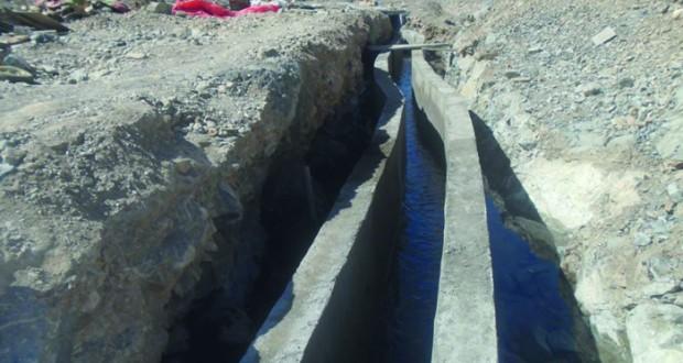 متابعة مشاريع صيانة الأفلاج بالخابورة
