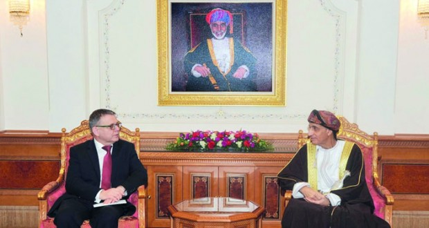 فهد بن محمود يستقبل وزير خارجية التشيك