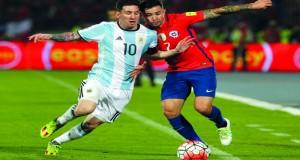 الأرجنتين ترد اعتبارها أمام تشيلي والاكوادور تفلت من خسارة أولى