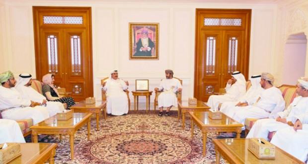 نائب رئيس مجلس الشورى يستقبل رؤساء جمعيات المحامين الخليجية