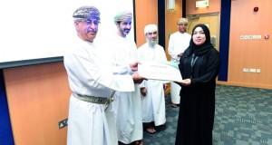 وزير الصحة يرعى الاحتفال بتكريم موظفي المركز المجيدين