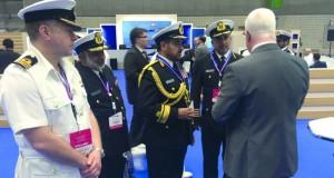 قائد البحرية السلطانية العمانية يعود إلى البلاد