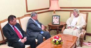 بحث أوجه التعاون بين السلطنة وبروناي دار السلام في عدد من المجالات