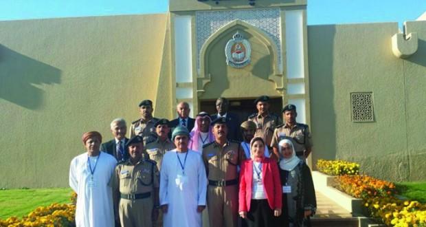 الهيئة العُمانية للاعتماد الأكاديمي تدقق الجودة المؤسسية لأكاديمية السلطان قابوس لعلوم الشرطة