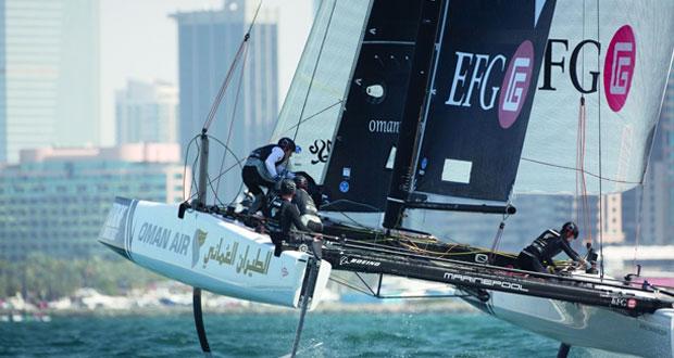 عمان للإبحار يتأهب لانطلاق افتتاحية سباقات الإكستريم في مسقط