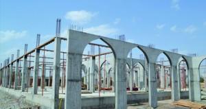 تواصل أعمال البناء والتشييد لمشروع إنشاء مقر جمعية المرأة بالقابل