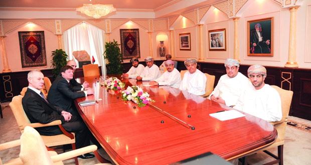 رئيس جامعة السلطان قابوس يستقبل رئيس لجنة الصداقة البرلمانية البيلاروسية