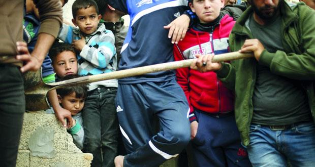 استشهاد طفل وإصابة شقيقيه بعدوان إسرائيلي على غزة