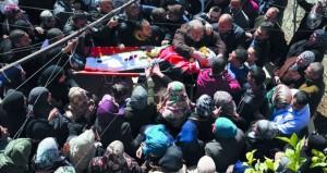 استشهاد فلسطيني برصاص الاحتلال خلال تصديه لمحاولة اقتحام مخيم (قلنديا)