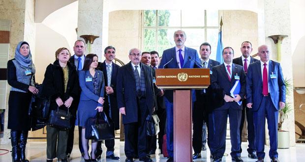سوريا: انطلاق (جنيف3 ) بلقاء مع وفد الحكومة والانتقال السياسي النقطة الأساسية في المفاوضات