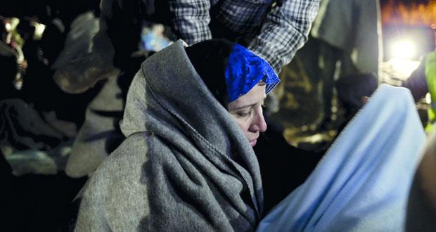 انقاذ نحو 600 مهاجر ووفاة 5 آخرين قبالة الساحل الليبي