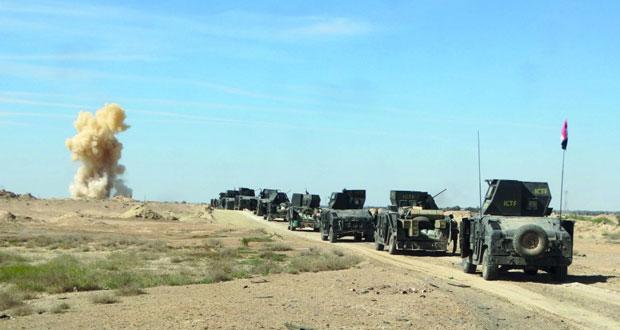 العراق: 16 بين قتيل وجريح في انفجارين.. تحطم طائرة أميركية وإنقاذ طاقمها